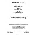 Beech Baron 56TC (TG-1 thru TG-83) A56 TC (TG-84 thru TG-94) Parts Catalog 96-590003-7B2 $29.95