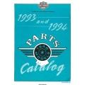 Harley Davidson Models 1340 Parts Catalog Part # 99450-94A 1993-1994