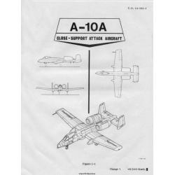 Fairchild Republic A-10 Thunderbolt II Warthog Close-Support Attack Aircraft