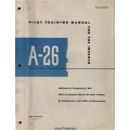 A-26 Invader Pilot Training Manual $13.95