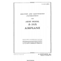 North American Aviation A-36A Army Model Airplane Erection and Maintenance Instructions $9.95