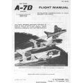 LTV A-7 Corsair II USAF Series Aircraft Flight Manual/POH 1971 - 1972 $9.95