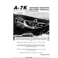 LTV A-7 Corsair II USAF Series Aircraft Aircrew Weapon Delivery Manual 1981 $5.95