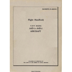 Douglas A4D-1 and A4D-2 Aircraft Flight Handbook $5.95