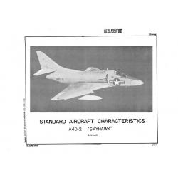 Douglas A4D-2 Skyhawk Standard Aircraft Characteristics