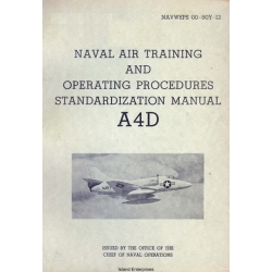 Douglas A4D Naval Air Training & Operating Procedures Standardization Manual $4.95