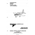 Grumman American AA-1C T-CAT & LYNX 1977/78 Models for Maintenance Manual
