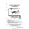Grumman Model AA-1C T-CAT and LYNX Pilot's Operating Handbook