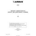Airbus A318 Airplane Characteristics Airport and Maintenance Planning AC 2018 $19.95