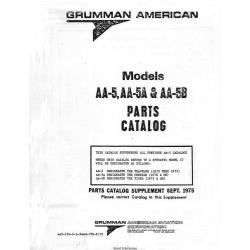 Grumman American Models AA-5-5A-5B Parts Catalog v75