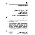 Cessna Landing Gear and Flap System Components (Electromechanical) Overhaul/Parts Manual D5266-1-13