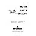 Mitsubishi MU-2B SN 006-038 Parts Catalog YET67165 $29.95