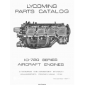 Lycoming IO-720 Series Aircraft Engines Parts Catalog PC-119A $13.95