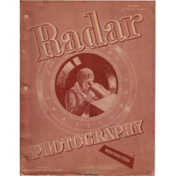 AAF 95-101-1 Radar Photography Air Forces Manual $4.95