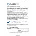 Bonanza/Debonair ABS/BPPP IO-520/IO-550 Guide to Initial Pilot Checkout 2009 $4.95