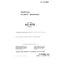 Douglas AC-47D Spooky USAF Series Aircraft Partial Flight Manual/POH $4.95