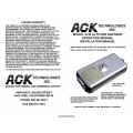 ACK A-30 Altitude Digitizer Operation and Installation Manual 2003 $9.95