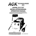 ACK E-01 ELT Installation and Operation Manual 2002 $4.95