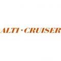 Aero Commander Alti-Cruiser Aircraft Logo,Script