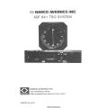 Narco ADF 841 TSO System Operation Manual