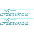 Aeronca Aircraft Logo,Decal/Sticker 2.75''h x 16.5''w!
