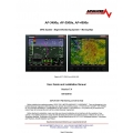 AF-3400s, AF-3500S,AF-4500s EFIS System-Engine Monitoring System Moving Map, User Guide and Installation Manual  $13.95