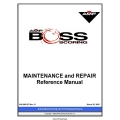 AMF Boss Scoring Maintenance and Repair Manual 2005 $4.95