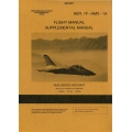 AMX Series Aircraft Aer.1F-AMX-1A Flight and Supplemental Manual 1989 $5.95