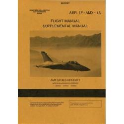 AMX Series Aircraft Aer.1F-AMX-1A Flight and Supplemental Manual 1989
