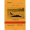 AMX Series Aircraft AER.1F-AMX-1 Flight Manual 1989 $9.95