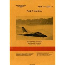 AMX Series Aircraft AER.1F-AMX-1 Flight Manual POH 1989