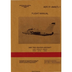 AMX Two Seater Aircraft AER.1F-AMX(T)-1 Flight Manual POH 1994
