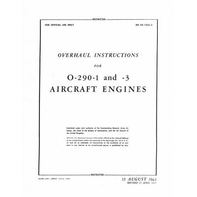 Lycoming O 540 Overhaul Manual