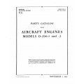 Lycoming Parts Catalog AN 02-15CA-4 O-290-1 & 3 $13.95