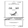 Douglas C-54G Skymaster USAF Series & Navy R5D-5 Aircraft Handbook Flight Operating Instructions 1945 - 1952 $12.95