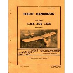 Aeronca L-16A & L-16B Flight Handbook $2.95