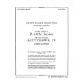 Curtiss P-40N Series & Kitty Hawk IV Pilot's Flight Operating Instructions $9.95