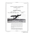 Stinson L-5, L-5B, L-5C, L-5E & OY-1 Pilot's Flight Operation Instructions AN 01-50DB-1 $2.95