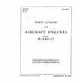 Lycoming Parts Catalog for R-680-17 (Lycoming) AN 02-15AC-4 February 15, 1944  $11.95