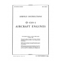 Lycoming (Overhaul) Service Instructions O-435-1 $13.95