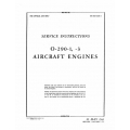 Lycoming Service Instructions AN 02-15CA-2 O-290-1 & 3 $13.95