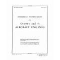 Lycoming Overhaul Instructions AN 02-15CA-3 O-290-1 & 3 $13.95