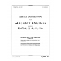 Continental Service Instructions  R-670-4,5 6,11A, AN 02-40AA-2 $13.95