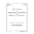 Continental Parts Catalog  R-670, -4, -5, -6 & -11, AN 02-40AA-4