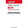 ASA E6-B Flight Computer Instructions 1992 - 2000 $4.95