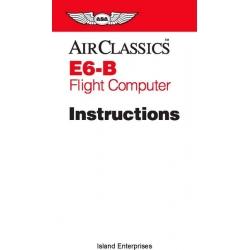 ASA E6-B Flight Computer Instructions 1992 - 2000