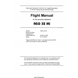 Schleicher ASG 32 Mi Flight Manual