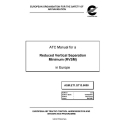 ATC Manual for a Reduced Vertical Separation Minimum (RVSM) in Europe $5.95