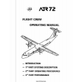 ATR 72 Flight Crew Operating Manual 1996 - 2000 $13.95