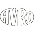 Avro 1918 Aircraft Logo,Vinyl Graphics Decal